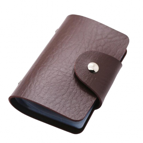 Cases 24 cards pu leather credit debit id business card holder cases 24 cards pu leather credit debit id business card holder pocket wallet purse uk reheart Images